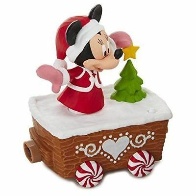 Hallmark Disney Express 2017 - Minnie Mouse Christmas Train Set *New In Box*