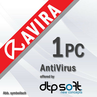 Avira Antivirus Pro 2019 1 PC VOLLVERSION 1 GERÄT 2018 DE EU
