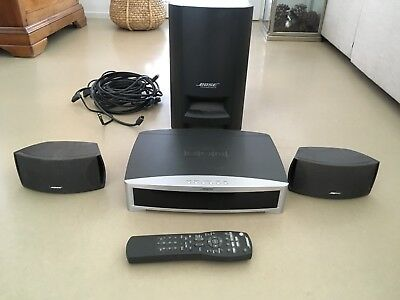 bose cinemate 1 sr lautsprecher system picclick de. Black Bedroom Furniture Sets. Home Design Ideas