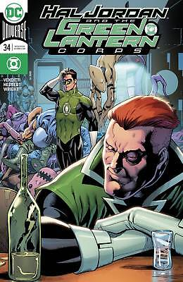 Dc Hal Jordan And The Green Lantern Corps #34 Variant First Print