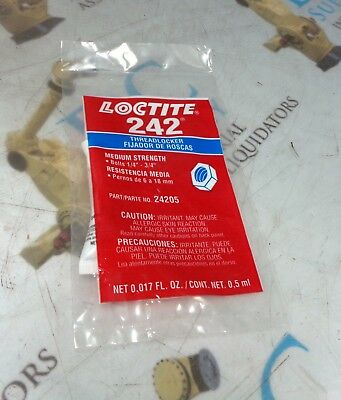 Loctite 242 Threadlocker *New*