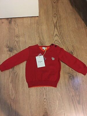 Baby Boy 6 Months Plus Jumper Paul Smith Brand New With Tags
