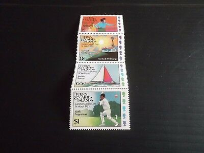 Turks And Caicos Islands 1983 Sg 736-739 Commonwealth Day Mnh