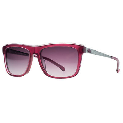a27d1485d185 LACOSTE L 699S 630 Clear Red Rectangle Sunglasses -  54.99