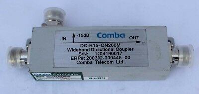 New Comba DC-R15-ON200M Wideband Direct Coupler 15 dB 698-2700 MHz