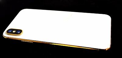 The luxury 24K Gold plated iphone X (10) 256gb Unlocked