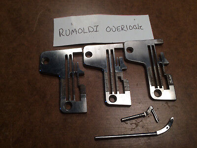 needle plates & loopers for RIMOLDI overlock sewing machine