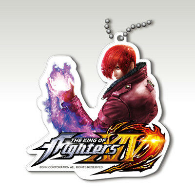 The King of Fighters XIV Key ring Yagami Iori Super Rare SNK japan game SOS