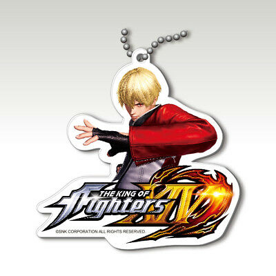 The King of Fighters XIV Key ring Rock Howard Super Rare SNK japan game SOS