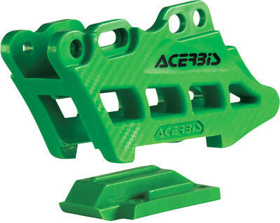 Acerbis 2410970006 Chain Guide Block 2.0 (Green)