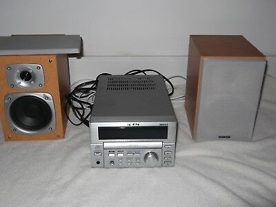 TEAC -  MC-D 78   - amplifier, cd player and tuner with speakers and remote c