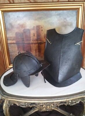 elmo corazza helmet lobstertail breastplate heaume casque antico ancient