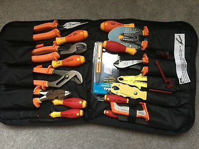 Ideal 19 piece 1000v Insulated Tool Kit