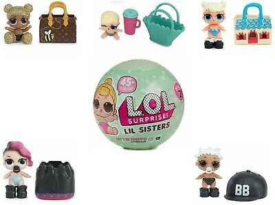 2017 Hot LoL L.O.L Surprise Dolls LITTLE SISTERS Series NEW WAVE 1 TOY UK