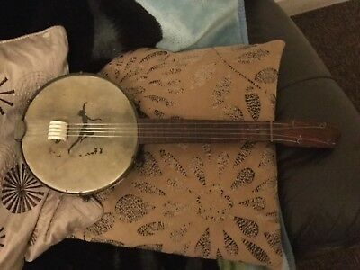 1920's Banjo Vintage 4 Strings Great item for collectors