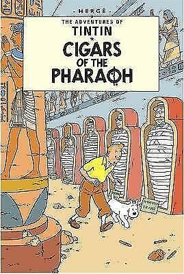 Tintin: Cigars of the Pharaoh (French Edition)-ExLibrary