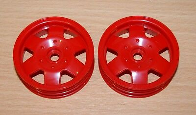 Tamiya 58275 Mad Fighter/DT01, 0555100/10555100 Front Wheels (2 Pcs.), NEW