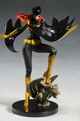 "DC Comics_KOTOBUKIYA Collection_Black Costume BATGIRL Bishoujo 9"" PVC Statue_MIB"