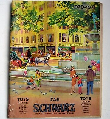 Vintage 1970 Schwartz's Christmas Toy Catalog - 145 Pages - Nice Condition*