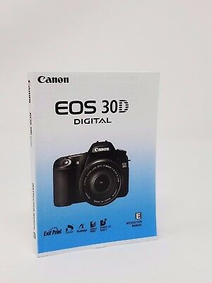 canon eos 60d genuine instruction owners manual book original new rh picclick com canon 30d owners manual pdf canon 30d user manual