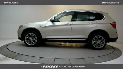 2017 BMW X3 sDrive28i Sports Activity Vehicle sDrive28i Sports Activity Vehicle New 4 dr Automatic Gasoline 2.0L 4 Cyl Mineral