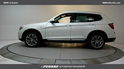 2017 BMW X3 sDrive28i sDrive28i New 4 dr Automatic Gasoline 2.0L 4 Cyl Mineral White Metallic