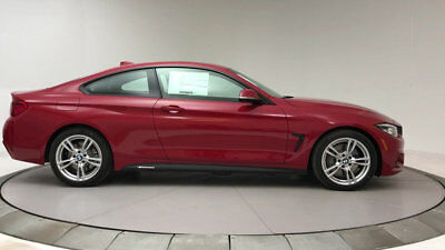 2018 BMW 4-Series 430i 430i 4 Series New 2 dr Coupe Automatic Gasoline 2.0L 4 Cyl Melbourne Red Metalli