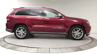 2014 Jeep Grand Cherokee RWD 4dr Summit RWD 4dr Summit SUV 3.6L V6 Cyl Redline 2 Coat Pearl