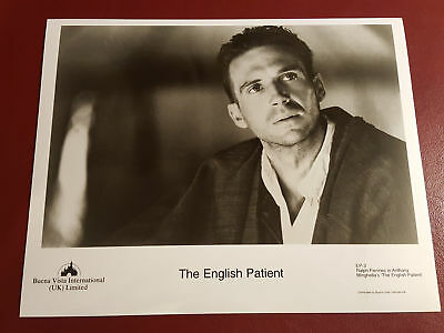 The English Patient, Ralph Fienne 10x8 B&W Photo Press Still #B1084