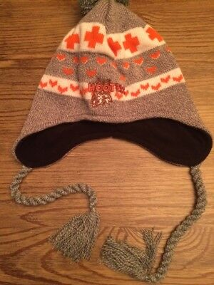 HOOTERS Embroidered Pom Pom Ski Cap