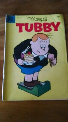 MARGE'S TUBBY 1957 DELL LITTLE LULU 10 cent Comic