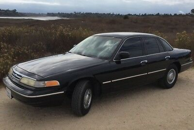 1997 Ford Crown Victoria  97 Ford Crown Vic under 60K mi CNG natural gas NEW TANKS Excellent condition