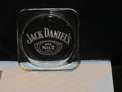 Jack Daniels, Engraved Glass Coaster