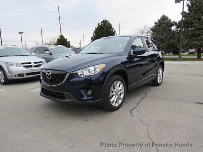 2014 Mazda CX-5 FWD 4dr Automatic Grand Touring FWD 4dr Automatic Grand Touring SUV Automatic Gasoline 4 Cyl BLUE