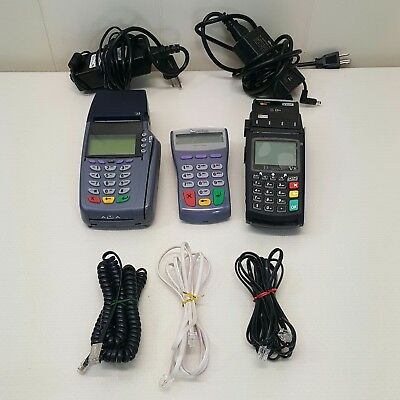 Credit Card Terminal Machine Reader Dejavoo V8 Verifone PINpad 1000SE Lot of 3