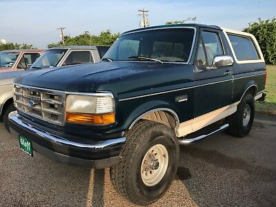 1993 Ford Bronco  1993 FORD BRONCO