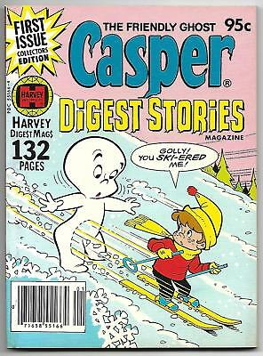Casper Digest Stories #1 (Harvey, 1980) – File Copy – Wendy – 132 Pages! – VF/NM