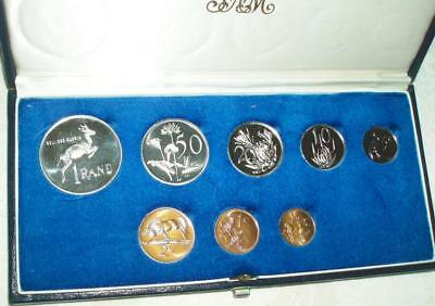 1977 South Africa Proof Set with SILVER in Original Presentation Case. Nice set.