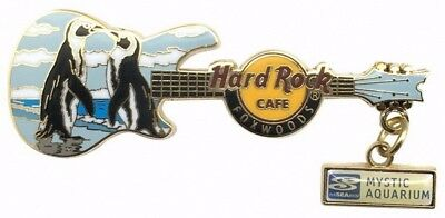 Hard Rock Cafe 2011 Foxwoods AZA Endangered Species Guitar Series Pin