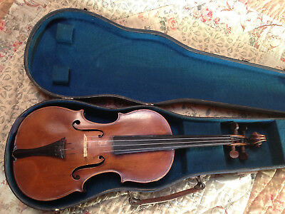 Old Antique Violin Labeled Gobetti