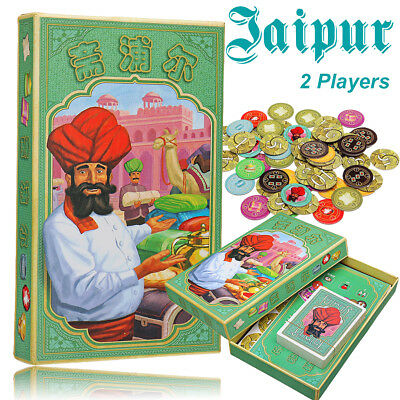 Jaipur 2 Players Board Game Strategy Business Transaction Card Games For Party