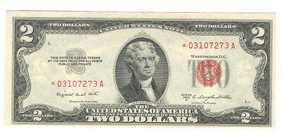United States 1953 B STAR NOTE  $2 United States Note FR-1511 Crisp Uncirculated