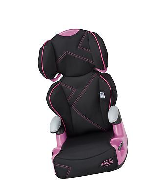 Evenflo AMP High Back Car Seat Booster Pink Angles
