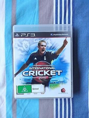 International Cricket 2010 (Sony PlayStation 3, 2010)
