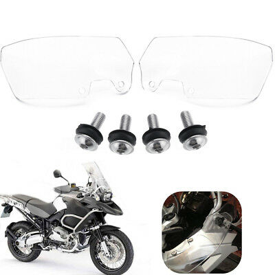 Pair Motorcycle Clean Wind Deflectors Scratch Resistant For BMW R1200GS 04-12