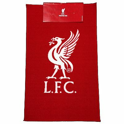 Liverpool Fc Red Floor Rug Mat Logo Football 100% Official New Rugepcrsliv