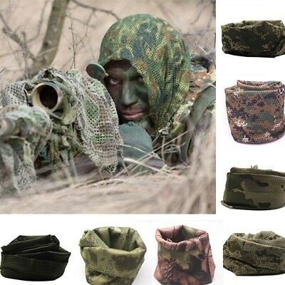 Army Military Tactical Keffiyeh Shemagh Arab Scarf Head Wrap Camouflage Scarves