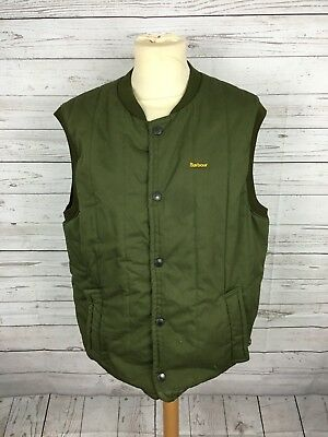 Men's Barbour Quilted Gilet/Bodywarmer - Large - Green - Great Condition