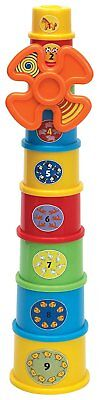 Baby Stacking Windmill Learning Cups Colourful New & Boxed Ideal Gift / Present
