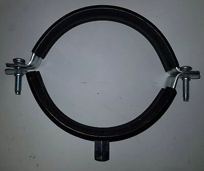 110mm rubber lined pipe clip
